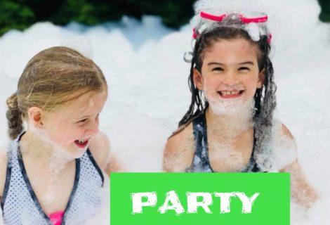 PARTY MOUSSE à partir de 200$/jour +tx.